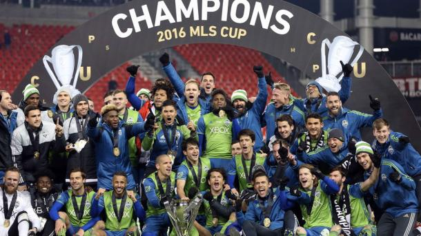 Los Sounders aspiran a coronarse campeones por segunda temporada consecutiva // Imagen: MLS