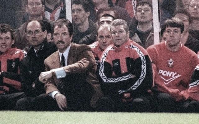Greame Souness durante un partido   Fuente: Southampton FC