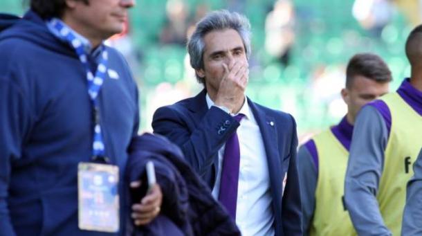 Paulo Sousa al termine di Palermo-Fiorentina 2-0 | www.lanazione.it