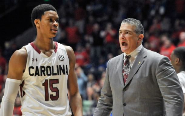 Frank Martin will lead the Gamecocks into the NIT. USA Today Sports