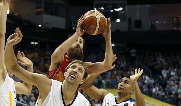 Immagini di repertorio da Eurobasket 2015