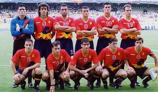 La Spagna campione olimpica nel 1992