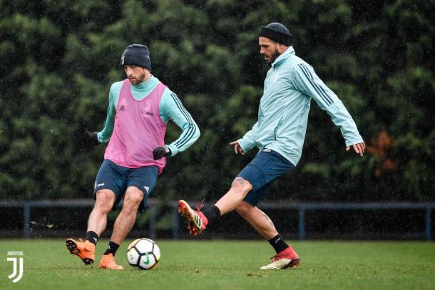 La Juventus in allenamento / JuventusTwitter