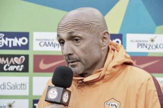 Luciano Spalletti em entrevista à Roma TV (Foto: Divulgação/ASRoma)