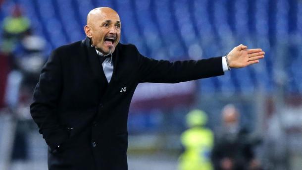La rabbia di Luciano Spalletti durante il derby | Ansa