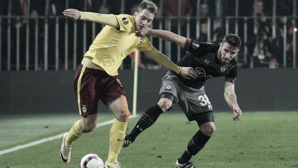 El Southampton perdió 1-0 en su visita al Sparta de Praga. Foto: Getty Images.