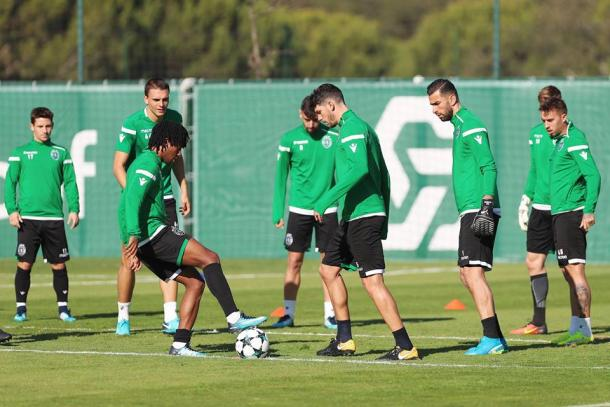 Foto Twitter Sporting Lisbona