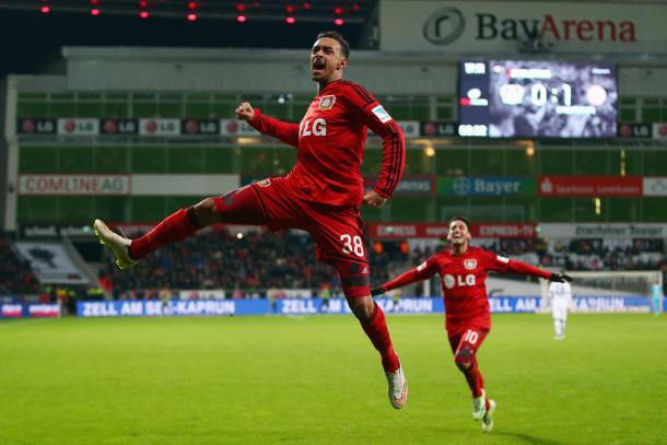 Bellarabi celebrates. | Source: sportal
