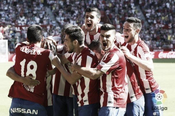 El Sporting se la juega con el descenso. Foto: La Liga