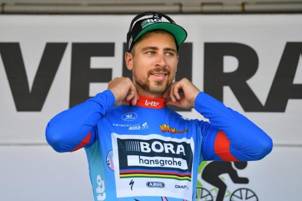 Ciclismo Binck Bank Tour, olé Sagan: successo nella prima tappa