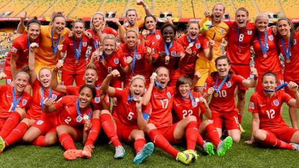 England claimed bronze in the summer after a 1-0 win over Germany. (Photo: The FA)