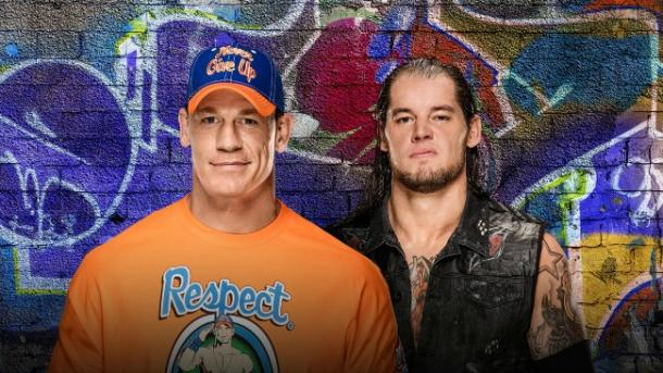 Corbin lost a once in a lifetime opportunity and has revenge on his mind when he faces John Cena (image: wwe)