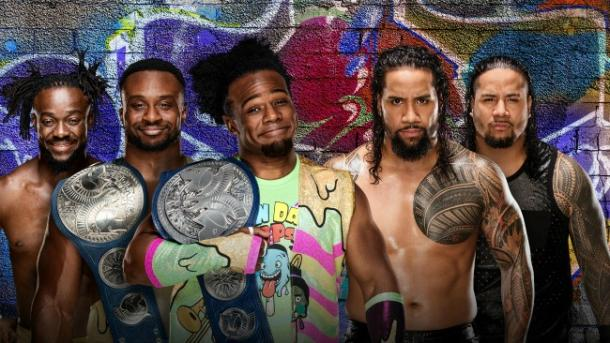 The Uso's look to take back their gold from The New Day (image: wwe)