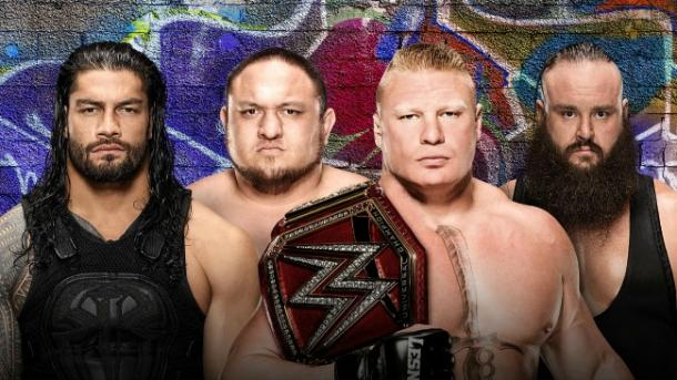 Can Universal Champion Brock Lesnar fend off three competitors? (image: wwe)
