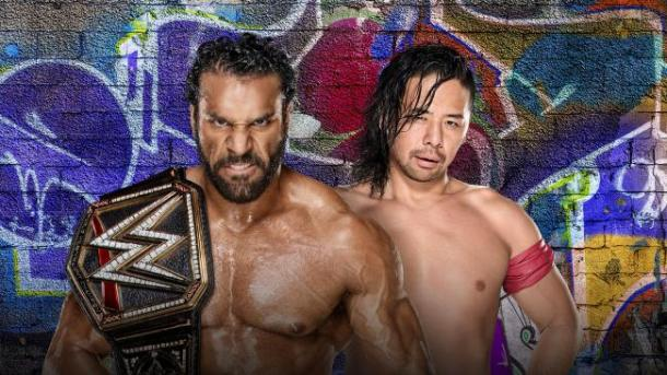 Jinder Mahal may face his toughest opponent yet in Shinsuke Nakamura (image: wwe)