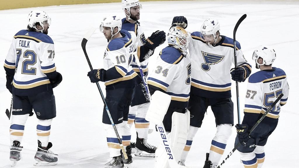 Los Blues no quieren sentirse perdedores   Foto: NHL.com