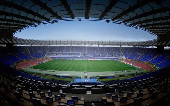El Estadio Olímpico tiene 4 estrellas, la máxima categoría otorgada por la UEFA   Foto: AS Roma