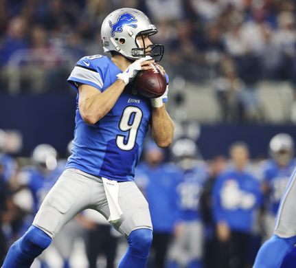 Matthew Stafford and the Detroit Lions are looking to pull off an upset. | Photo: USA Today Sports