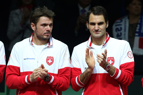 Switzerland will be much weaker without Wawrinka and Federer (Photo: Getty Images/Jean Catuffe)