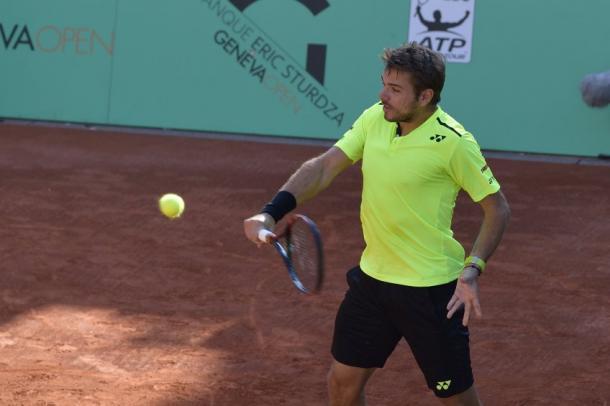 Wawrinka continued his dominant showing in Geneva (Photo: Banque Eric Sturdza Geneva Open/Augusto Tomassetti