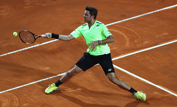 Wawrinka dropped just two games to progress to the last eight (Photo: Getty Images/Matthew Lewis)