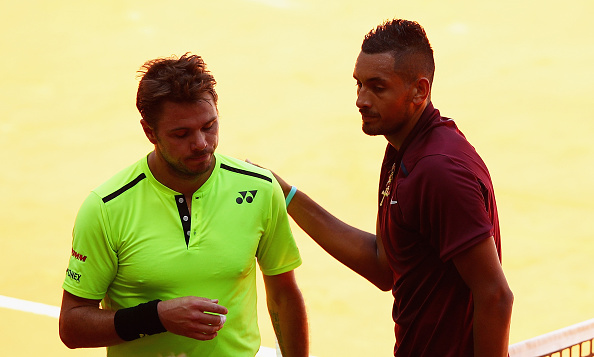 Wawrinka can't hide his disappointment after losing to Kyrgios in Madrid (Photo: Getty Images/Clive Brunskill)