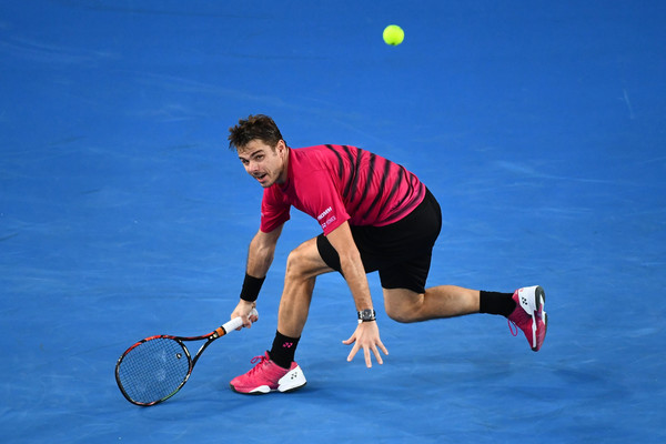 The fourth seed is looking for his fourth Grand Slam singles title (Photo by Quinn Rooney / Getty Images)