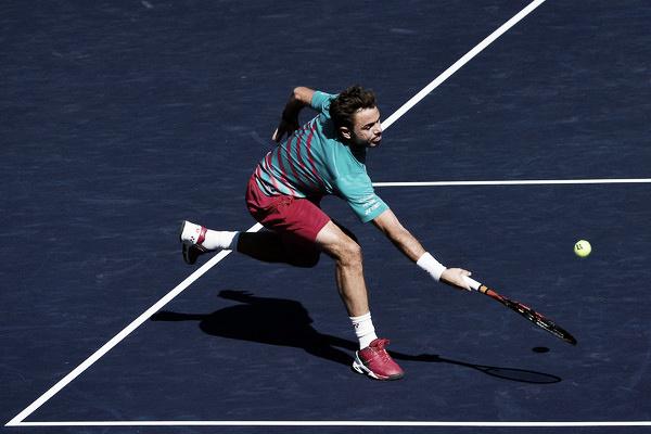 Stan Wawrinka durante la final de Indian Wells. Foto: zimbio.com