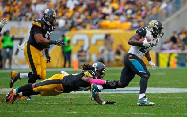Jaguars e Steelers se enfrentaram na semana 5: 30 a 9 para Jacksonville (Foto: Justin K. Aller/Getty Images)