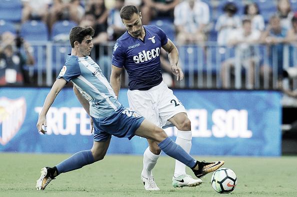 Detalhe do amistoso contra a Lazio | Foto: Marco Rosi/Getty Images