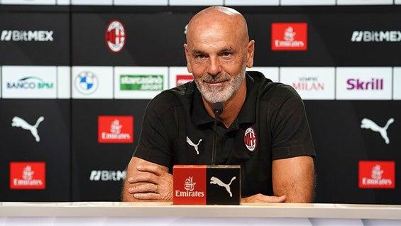 Stefano Pioli / Foto: Site oficial AC Milan