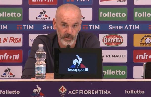 Stefano Pioli espera un partido de alta intensidad   Foto: ACF Fiorentina
