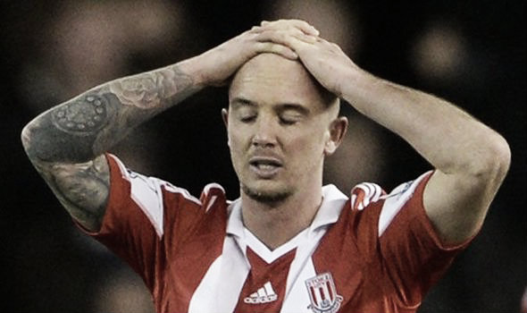 Stephen Ireland's time at Stoke City may be up (image: express.co.uk)