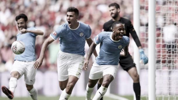 Gol de Sterling/ Foto: Manchester City