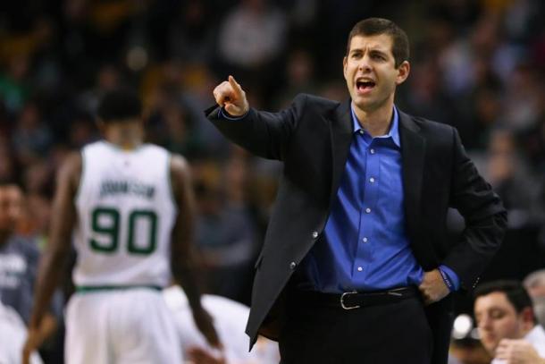 Coach Brad Stevens, alla seconda eliminazione con i Celtics ai playoff - Source: BostonGlobe