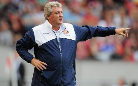 Current Hull City and former Sunderland boss Steve Bruce has also been linked with the England manager's vacancy, (Image source: The Telegraph)