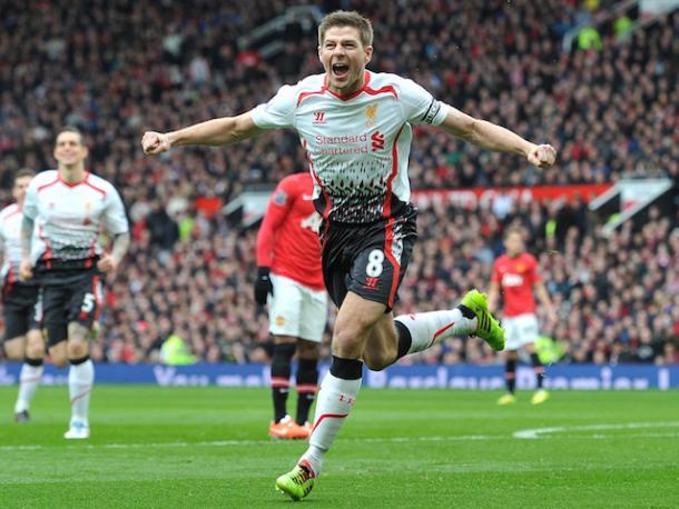 Steven Gerrard es el máximo goleador del derbi del noroeste de Inglaterra | Foto: Liverpool