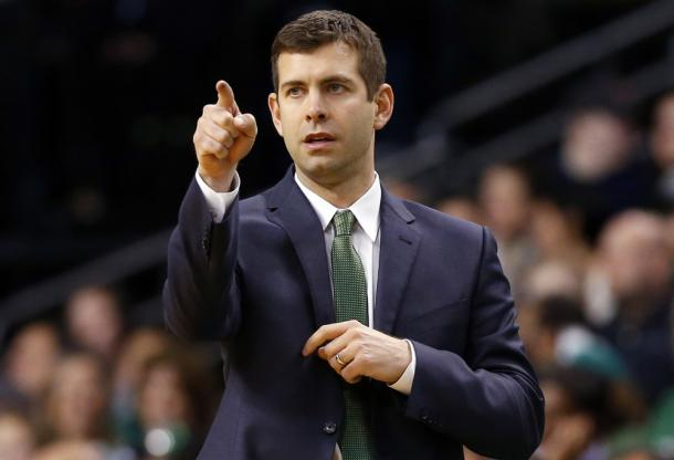 Brad Stevens, giovane allenatore dei Boston Celtics | Photo: NBA.com