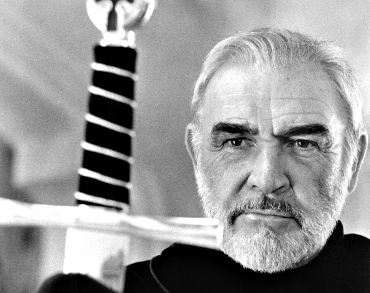 Sean Connery en El primer caballero. Fuente: www.elantepenultimomohicano.com