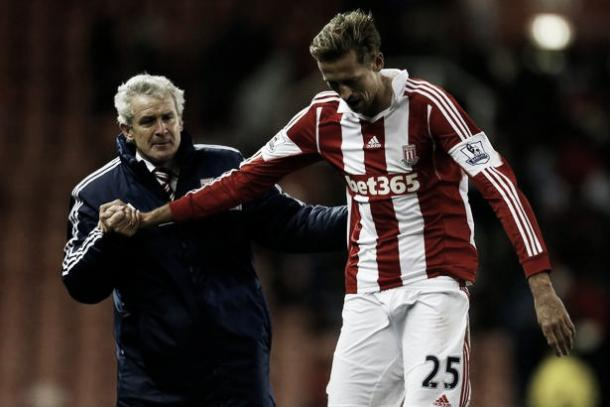 "Crouch says he has been left ""frustrated"" by his time under Mark Hughes (image: mirror.co.uk)"