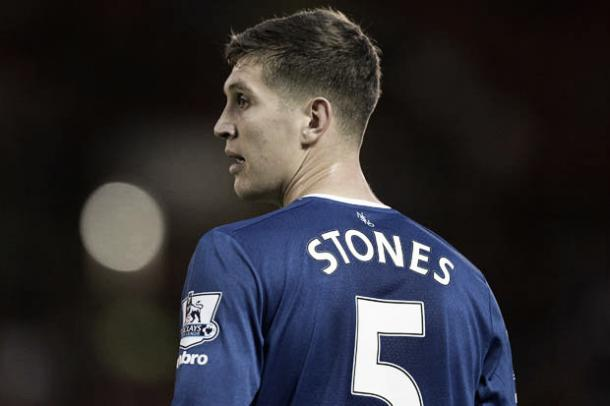 John Stones has not played 90 minutes for Everton since January. | Photo: Getty Images