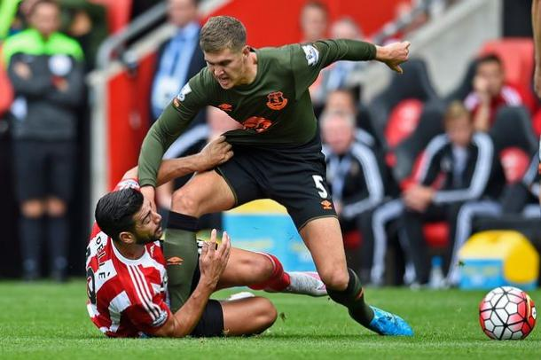 The battle between John Stones and Graziano Pelle looks set to be crucial | Photo: Reuters
