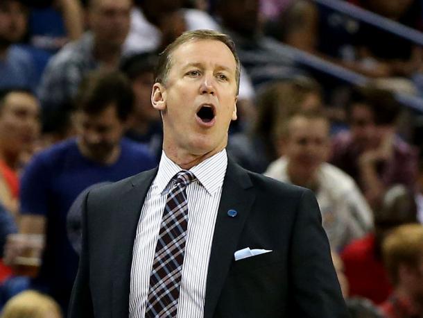 Coach Terry Stotts, sotto 2-0 con i suoi Blazers nella serie contro i Warriors - Source: sports--news.com