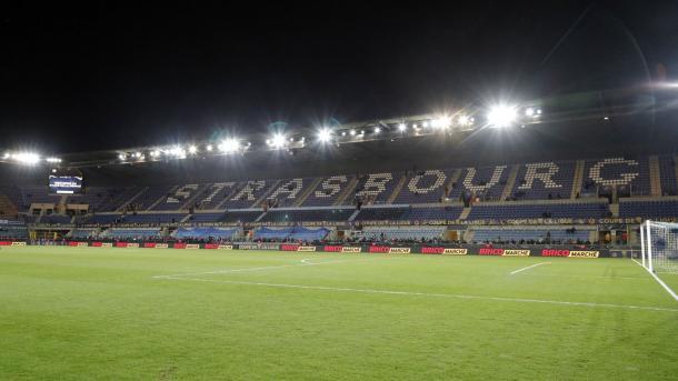 Stade de la Meinau, local onde seria disputado o jogo entre Strasbourg x PSG neste sábado (7) | Foto: Divulgação/PSG