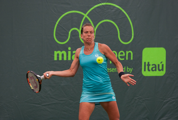 Strycova will be looking to reach her first quarterfinal in Miami (Photo by Icon Sportswire / Getty Images)