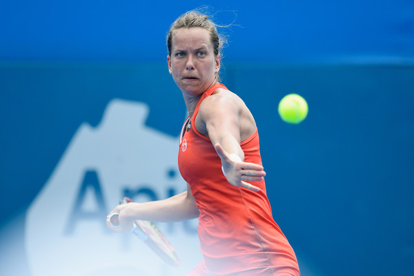Strycova is flawless in Sydney thus far (Photo by Brett Hemmings / Getty Images)