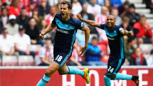 Stuani and Nsue failed to live up to last weekend's billing | Photo: Sky Sports