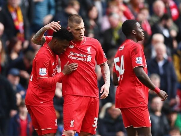Sturridge and Skrtel will put club friendship's aside on Tuesday (photo; getty)