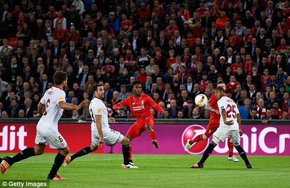 Sturridge's opener was a beauty (photo: Getty Images)