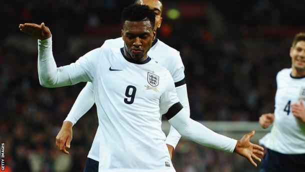 Time to party? Sturridge has been named in the 23 (photo: Getty Images)